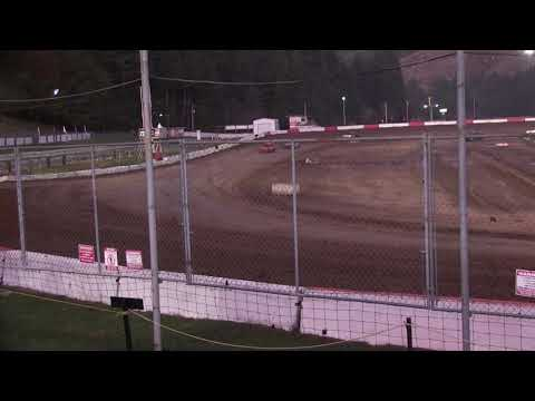 Mini outlaw heat race october 5, 2019 at Coos Bay Speedway