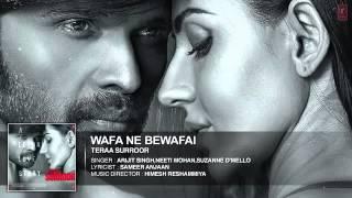 Wafa Ne Bewafai Full Song Audio   TERAA SURROOR   Himesh Reshammiya, Farah Karimaee   T Series