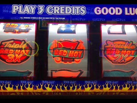 Triple Red Hot Seven Slots