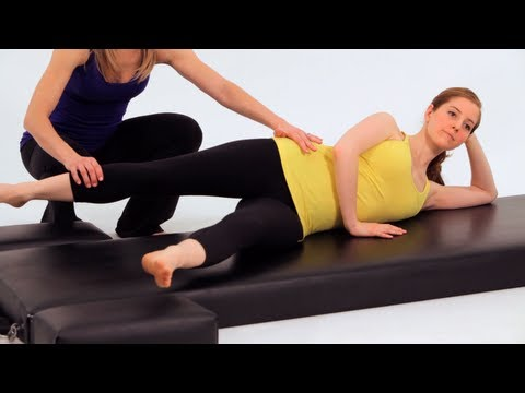 How to Do a Side Kick Bicycle   Pilates Workout