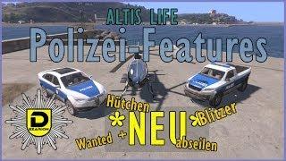 ALTIS LIFE   NEUE Polizei-Features!   Gegenstände platzieren, Blitzer uvm. [HD, Deutsch]