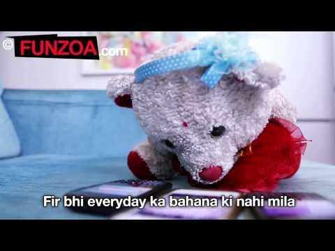 SMS Ka Reply Kyun Nahi Diya Funny Hindi Song By Teddy