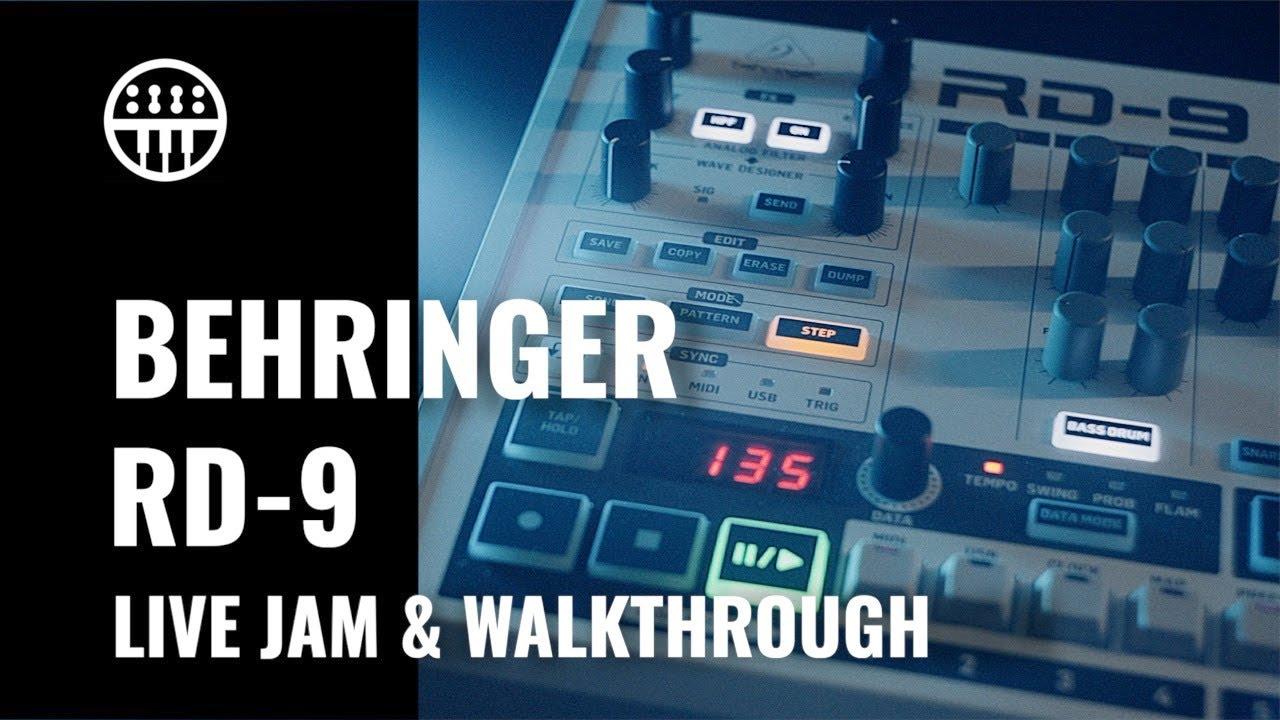 Behringer RD-9   Live Performance & Set-Up Walkthrough   Thomann Synthesizers