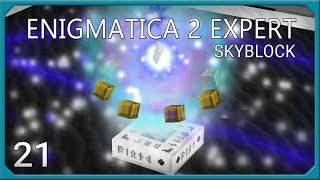 Enigmatica 2 Expert Skyblock Ep21 Attunement + Extra Cells 2 Fluid Crafting