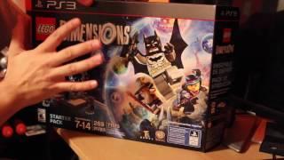 Video LEGO Dimensions (PS3) - Unboxing download MP3, 3GP, MP4, WEBM, AVI, FLV November 2018