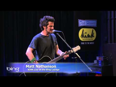 Matt Nathanson - Modern Love (Bing Lounge)