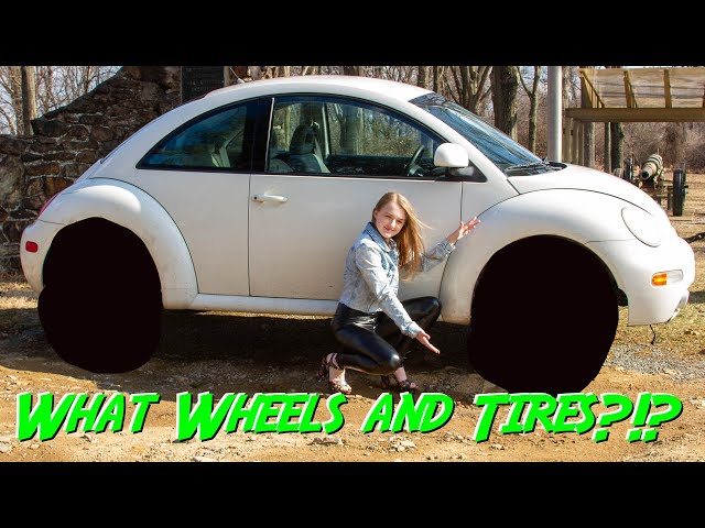 How to Select Tires with Madi in Black leather leggings and high heels