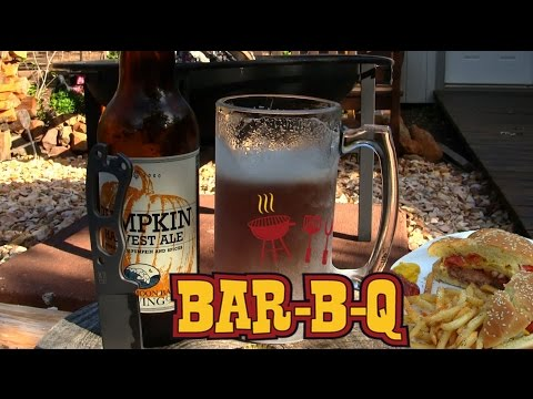Fire Pit BBQ Burgers And Beer