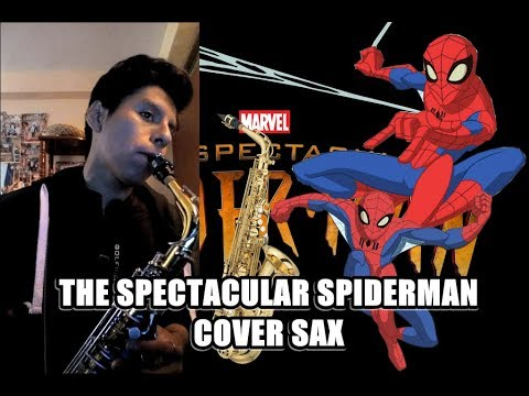 The Spectacular Spiderman | Cover Sax | HaroldBlancos