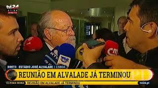 Jaime Marta Soares vaiado a saída
