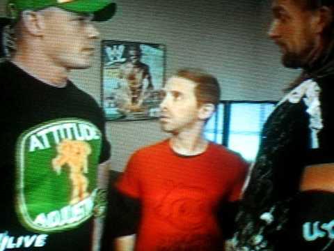 Monday Night Raw 7/13/09-Seth Green, John Cena and Triple  H segment