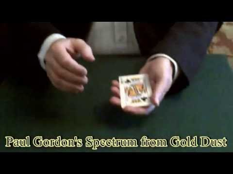Paul Gordon's Spectrum from Gold Dust - Card Magic Trick