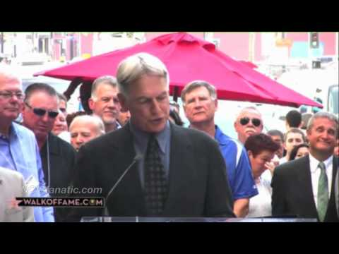 NCIS' Mark Harmon: Hollywood Walk Of Fame STAR Video