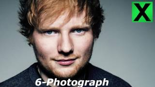 Ed Sheeran - X  ( Deluxe Edition Full Album )  Top Tracks 2017