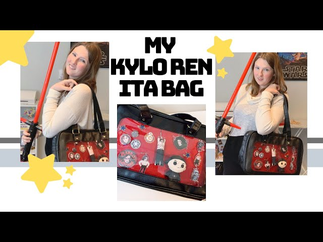 Decorating my Kylo Ren Ita Bag (+ Rambling About Star Wars)