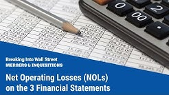 Net Operating Losses (NOLs) on the 3 Financial Statements