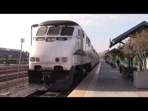 Metrolink IEOC Line Ride from Oceanside to Riverside - Featuring K5LA Action!