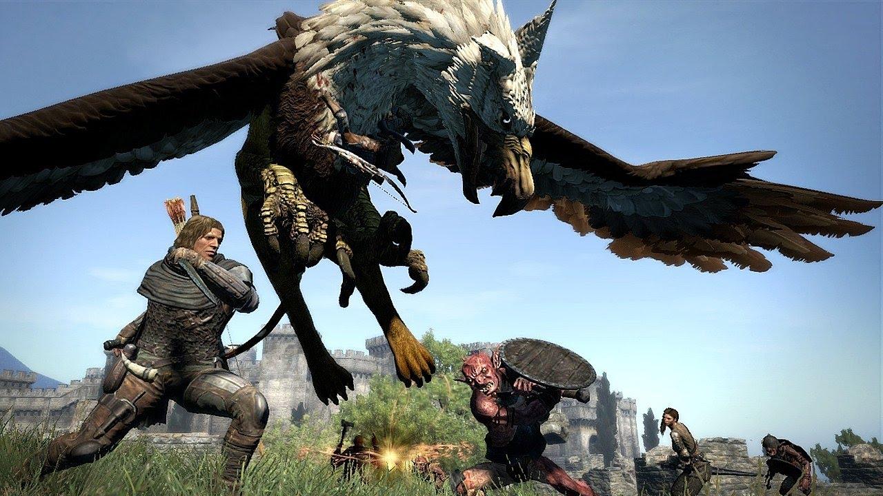 Dragon's Dogma auf PC am besten PC Preview angespielt YouTube