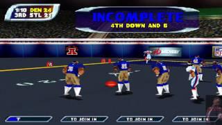 NFL Blitz 2001 - Broncos (Me) vs. Rams