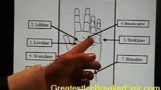 13. Palm Reading Tutorial GreatestIceBreakerEver (GIBE) DVD Thumbnail