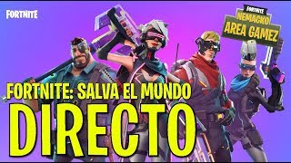 FORTNITE CHILE SAVE THE WORLD 2018 - BEST MY CRATES :O!!! IN AREA GAMEZ