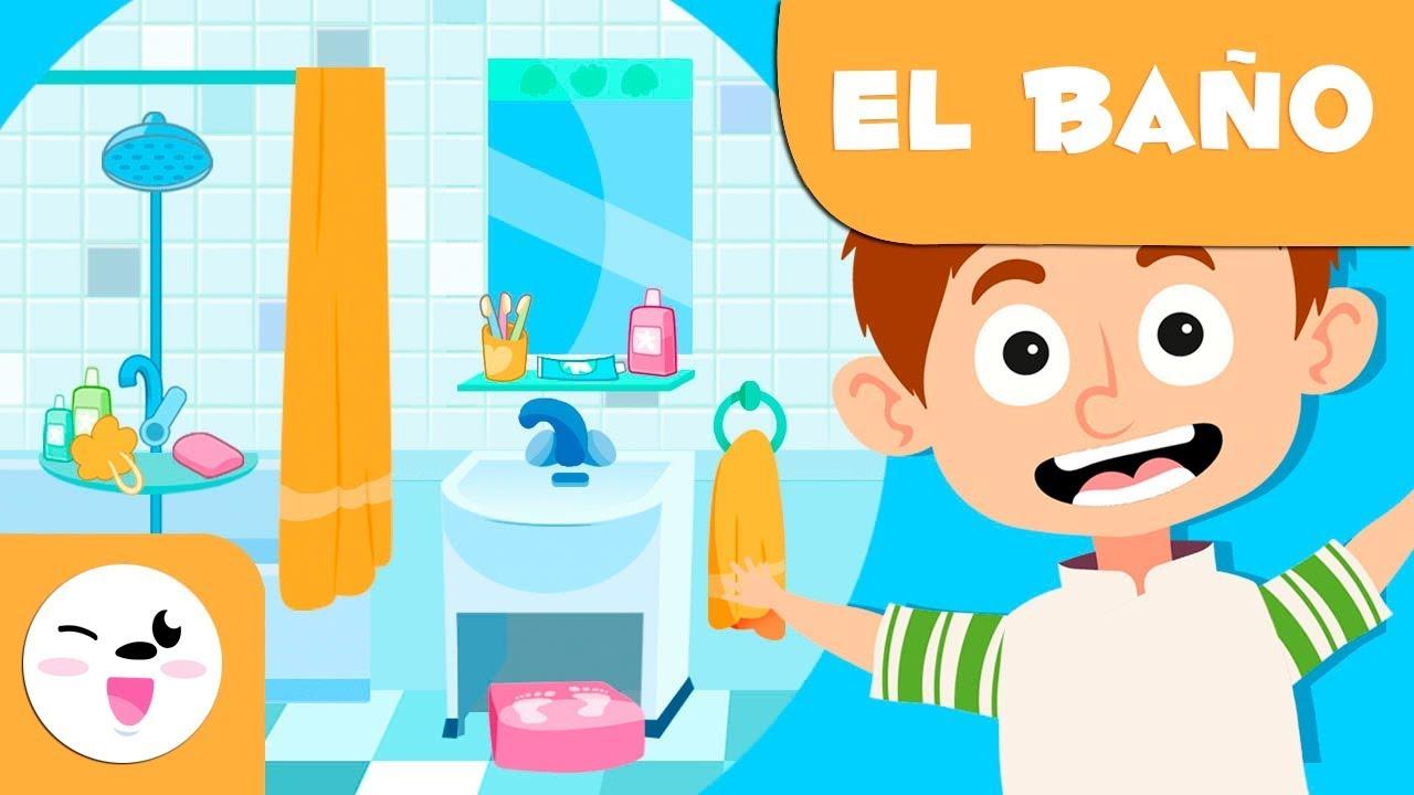EL CUARTO DE BAÑO | Objetos del hogar | Vocabulario para ...