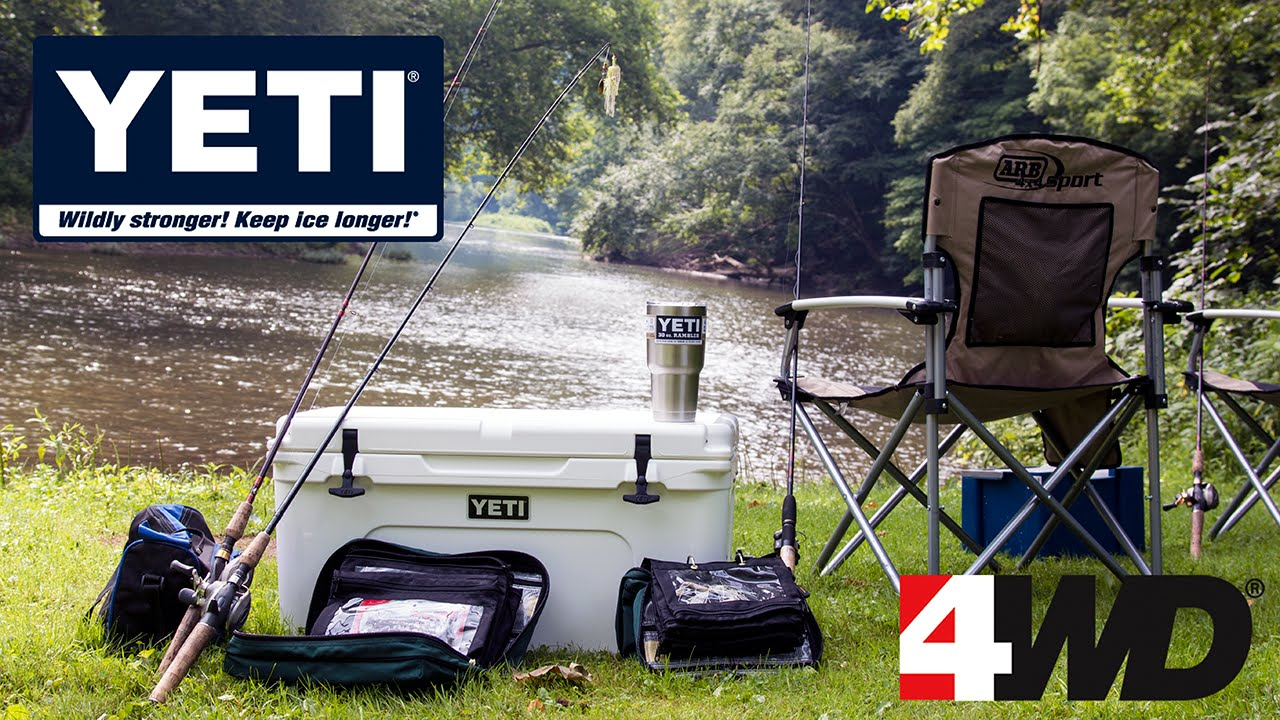 Yeti Folding Chair Diy Bean Bag Cover Coolers Ice Chests Drinkware And Gear Youtube