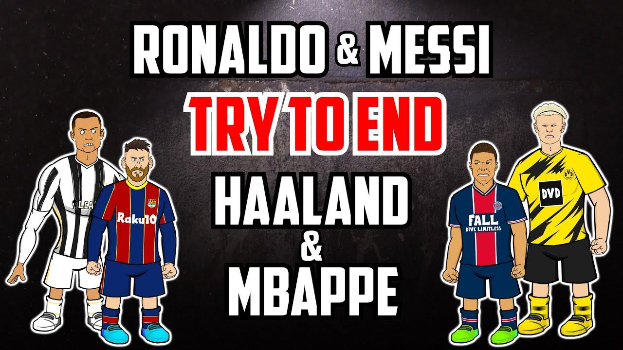 Download 💥Ronaldo + Messi VS Mbappe + Haaland💥 (Frontmen Season 2 Finale 2.11)