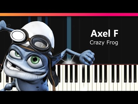 how to play axel f on piano full song