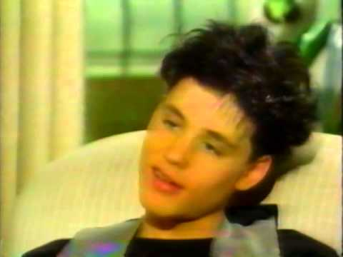 Corey Haim RARE INTERVIEW 1989