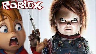 CHUCKY IS BACK IN ROBLOX HORROR ELEVATOR