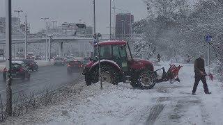 Kocham Łódź nawet zimą - Powróciła zima.