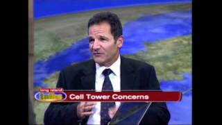 Cell Towers Concerns - Dr. Jacob Sharony - Live Interview on News12 Long Island
