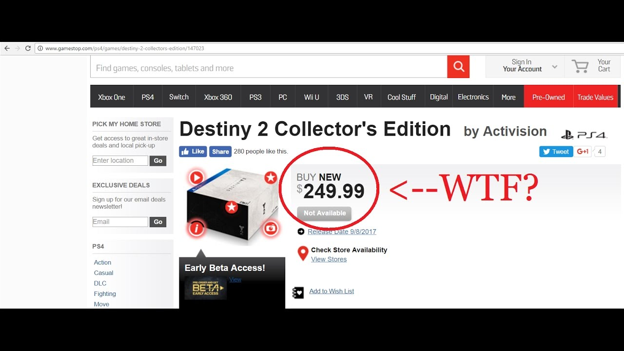 Destiny 2 collectors edition for sale - Destiny 2 Collector S Edition
