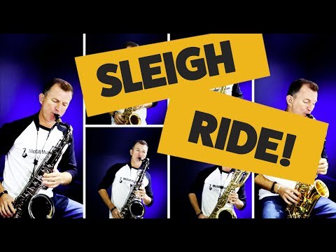 Sleigh Ride - best Christmas songs to play on saxophone