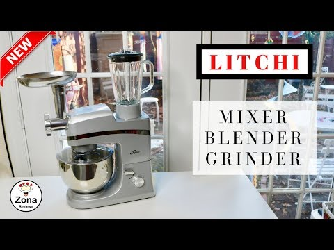 😍  LITCHI   ❤️   Stand  Mixer  And  Blender  Grinder  Pasta Maker - Review   ✅