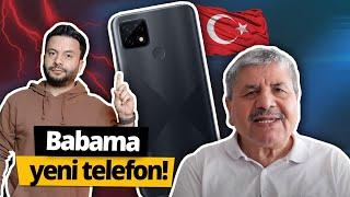 Babama yeni telefon: Türkiye'de üretilen realme C21!