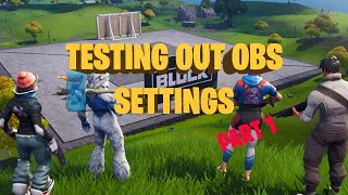 Fortnite #Streamlabs OBS Settings Part 1 #SUNDAY | Creator Code : idjmic
