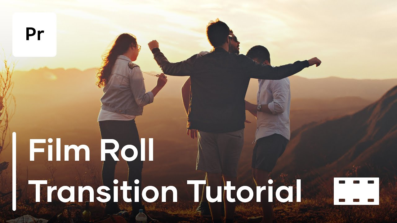 How To Create A Film Roll Transition In Premiere Pro - Premiere Pro Tutorial