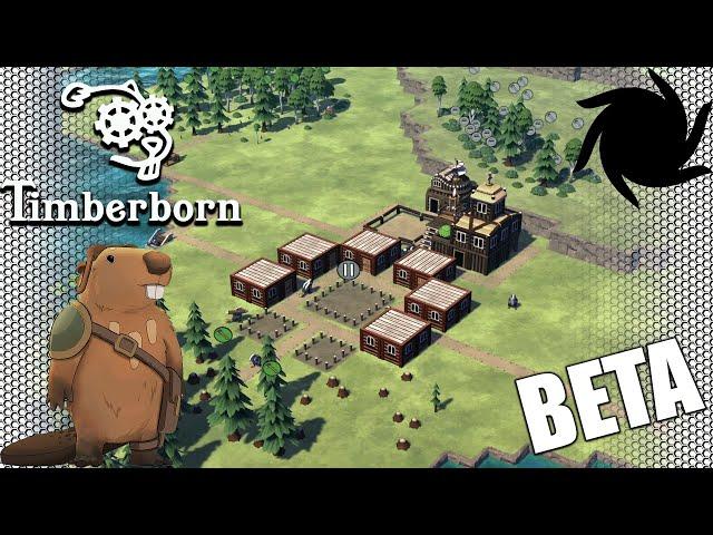 Timberborn Beta - Fancy Beavers - New Beginning