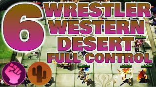 6 WESTERN DESERT 6 WRESTLER BUILD - MAGIC CHESS TIPS & GAMEPLAY | Mobile Legend Bang Bang