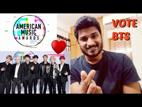 ARMYs PLEASE VOTE BTS FOR THE AMERICAN MUSIC AWARDS 2018
