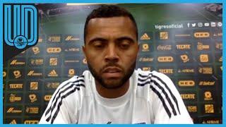 El futbolista de Tigres habló en conferencia previo a la Jornada 13 del Guardianes 2020