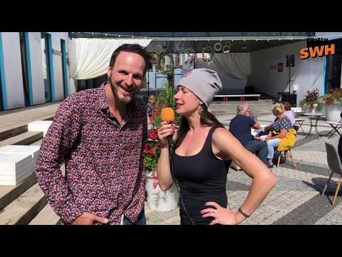 Lauris Busulis un Inese Vaikule - Radio SWH reportāžas no Talsu pilsētas svētkiem (06.07.2019.)