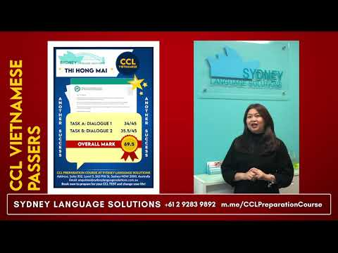CCL Vietnamese At Sydney Language Solutions