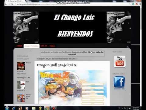 Como Descargar e Instalar Dragon Ball Budokai X portable    El Chango Laic