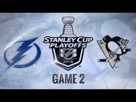 | Hockey Fights Highlights 2016 | -  Pittsburgh Penguins vs Tampa Bay Lightning - Best Highlights