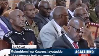 Mukoddomi wa Kaweesi ayatudde