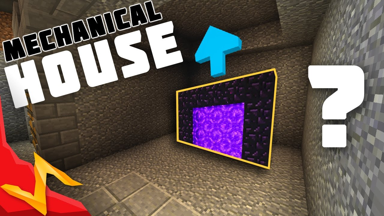 Meincraft: how to make a mechanical house