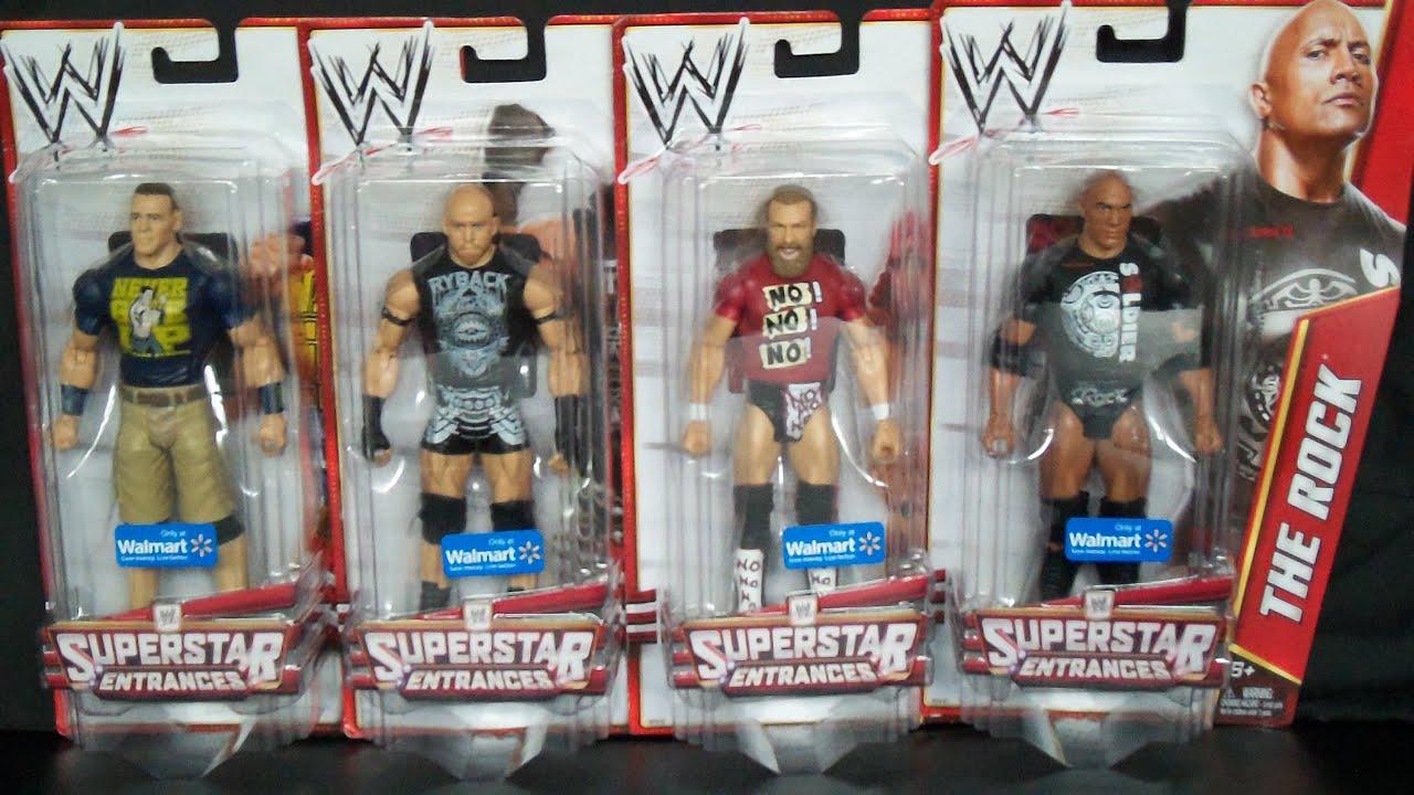 Walmart Wwe Toys : Wwe superstar entrance t shirt series walmart exclusive